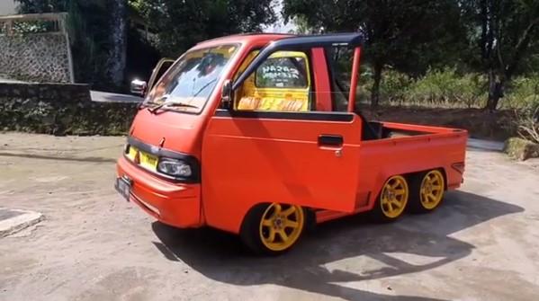 Modifikasi Mobil New Carry Pick Up