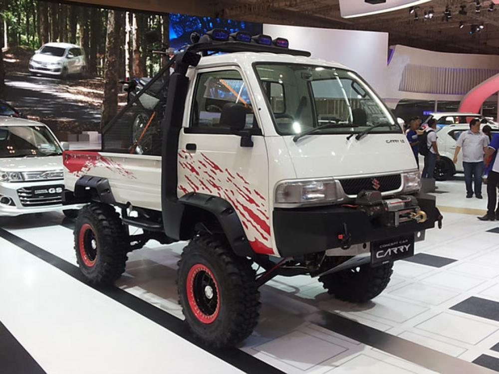 Modif Mobil Carry Minibus